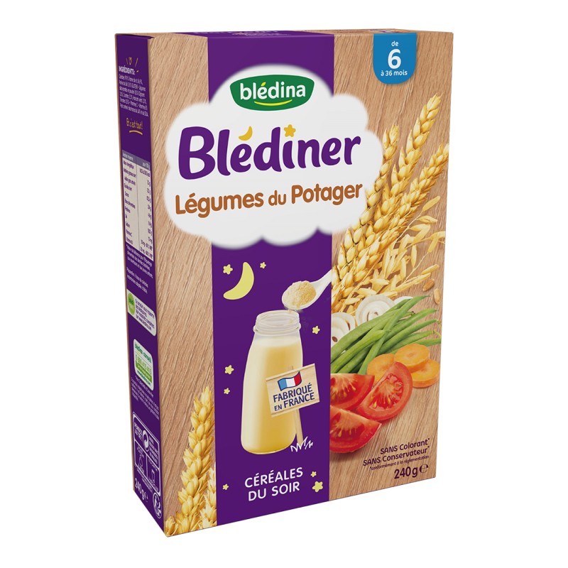 Blédîner - Légumes du potager - 240g