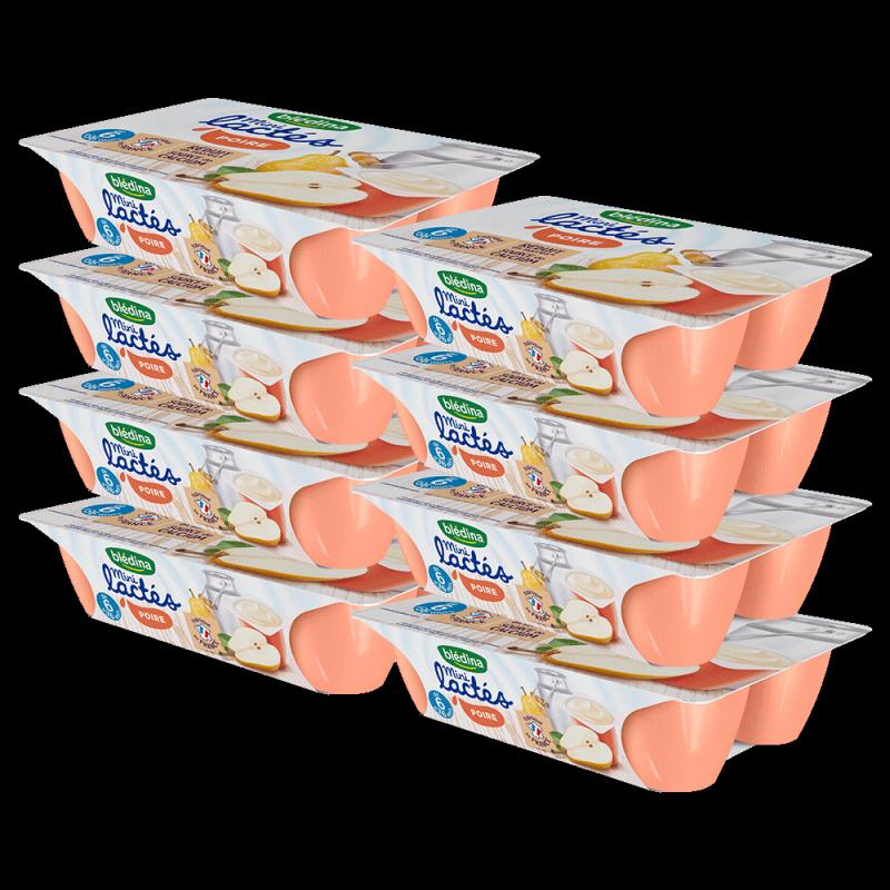 Pack Mini Lactés Poire
