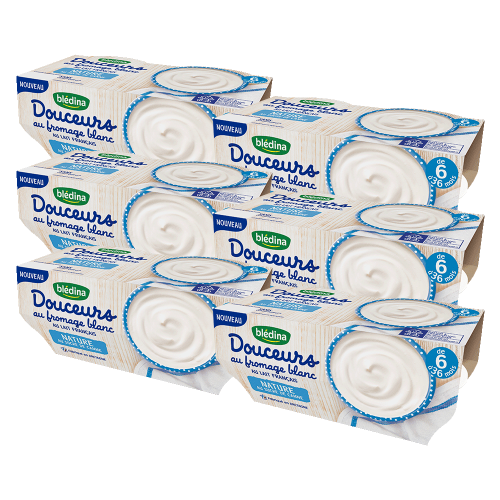 Pack Douceurs au Fromage Blanc Nature au Sucre de Canne