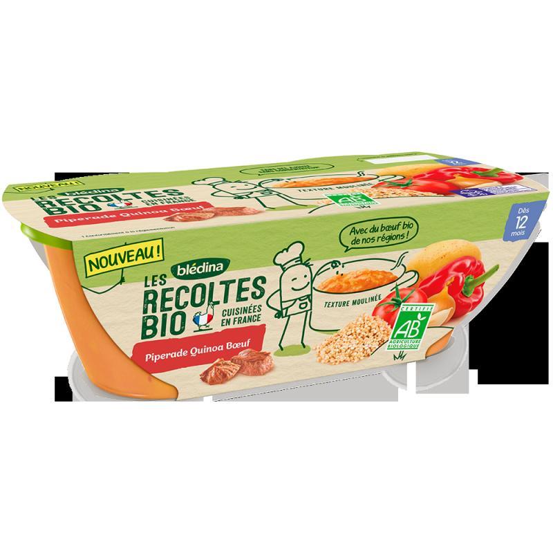 Les Récoltes Bio Piperade Quinoa Boeuf