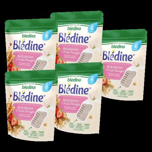 Pack Blédine Multicéréales et Fruits rouges