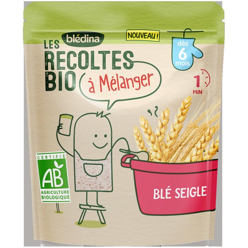 Les récoltes Bio à mélanger - Blé Seigle