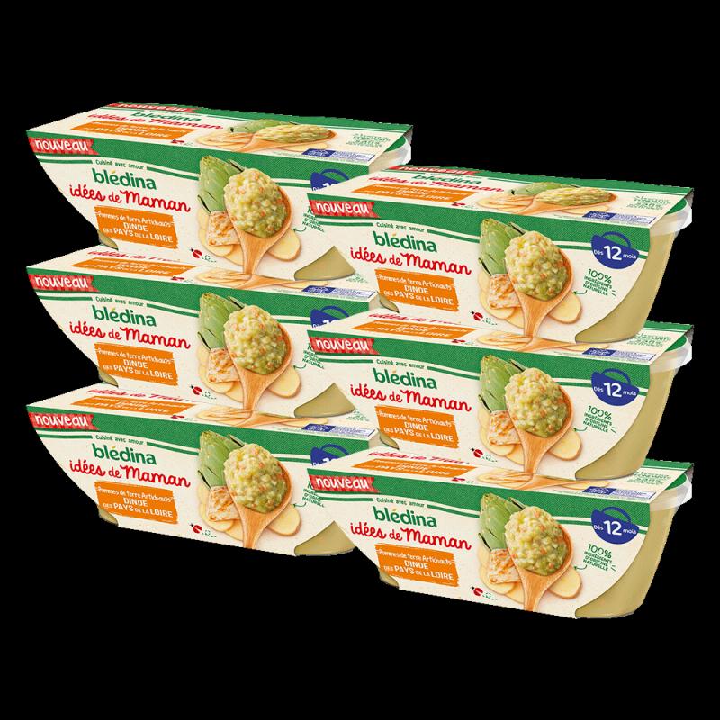 Pack Idées de Maman Pommes de terre Artichauts Dinde des Pays de la Loire