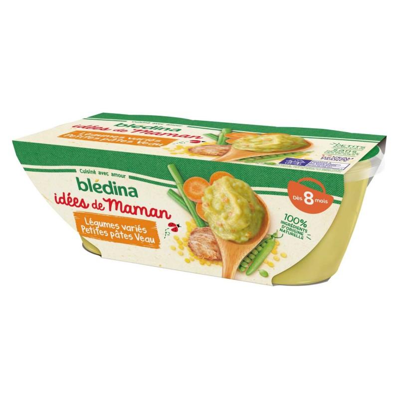 Idées de Maman Légumes variés petites Pâtes Veau