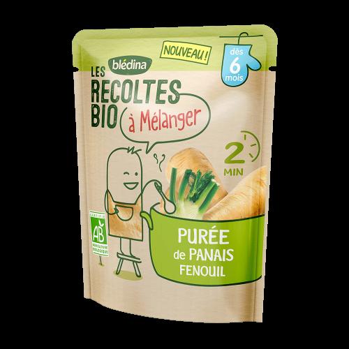 Pack Les récoltes bio à mélanger Purée de Panais Fenouil