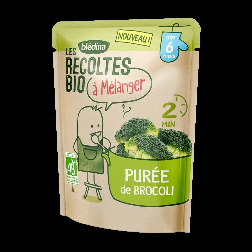 Pack Les récoltes bio à mélanger Purée de Brocoli