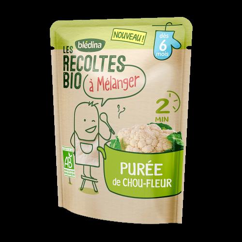 Pack Les récoltes bio à mélanger Purée de Chou-fleur