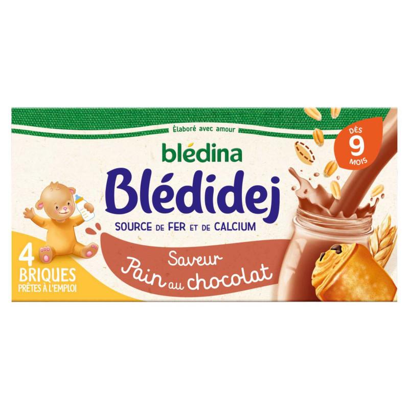 Blédidej Saveur Pain au chocolat 4x250ml
