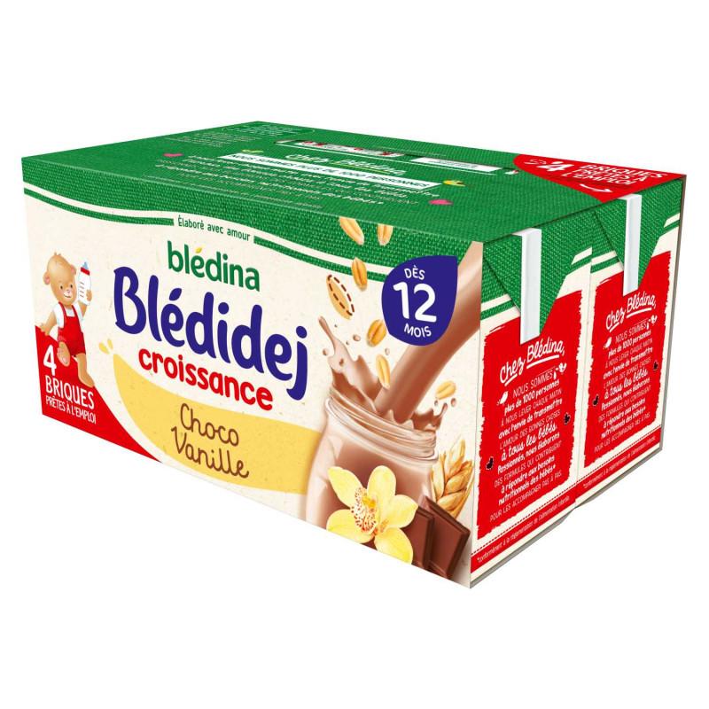 Blédidej Croissance Choco-Vanille 4x250ml