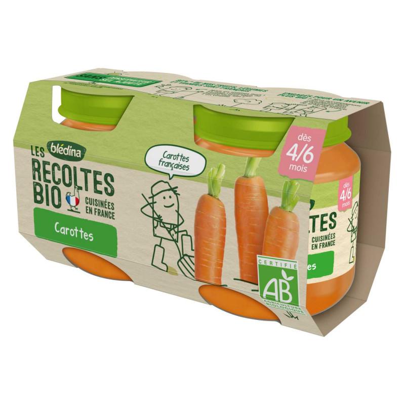 Les récoltes Bio Carottes de Bretagne