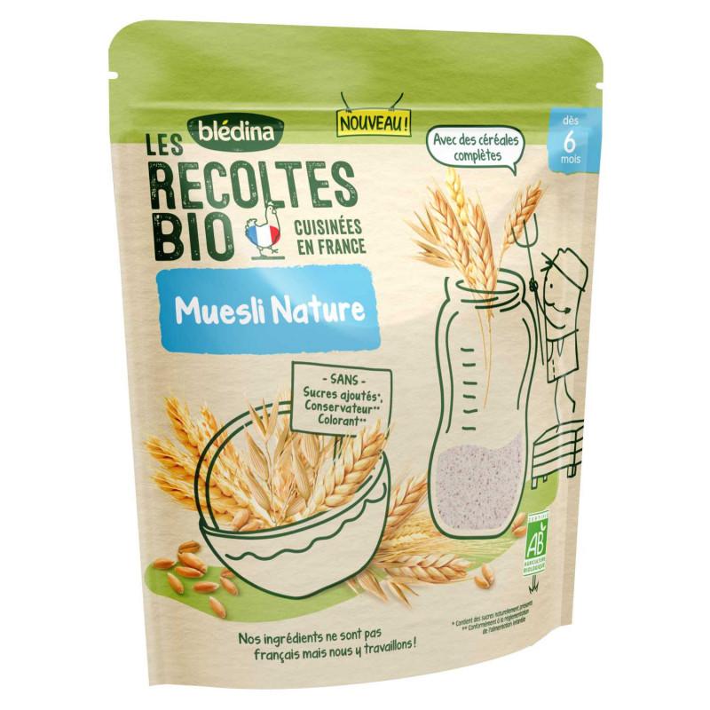 Les Récoltes Bio - Muesli Nature - 180g