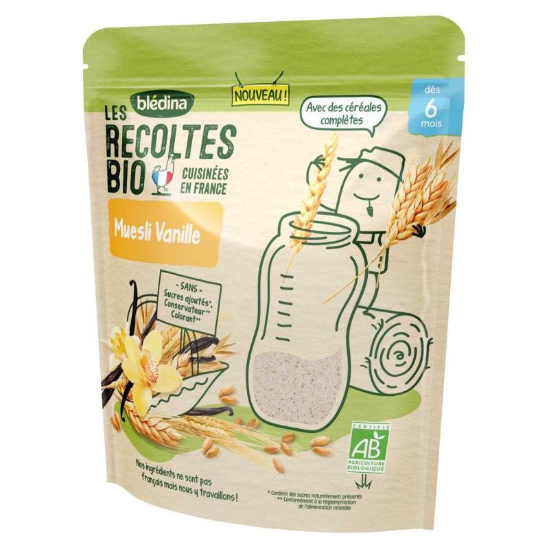 Les Récoltes Bio - Muesli Vanille - 200g