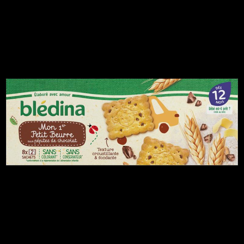 Biscuit petit beurre pépites de  chocolat