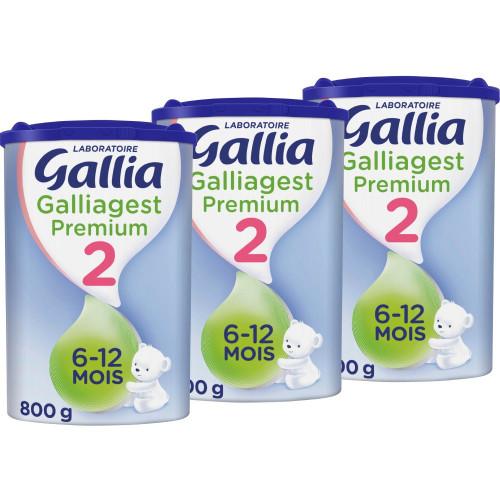 Lot Gallia Galliagest 2 - Dès 6 Mois