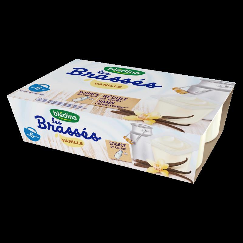 Les Brassés Vanille - 6x95g