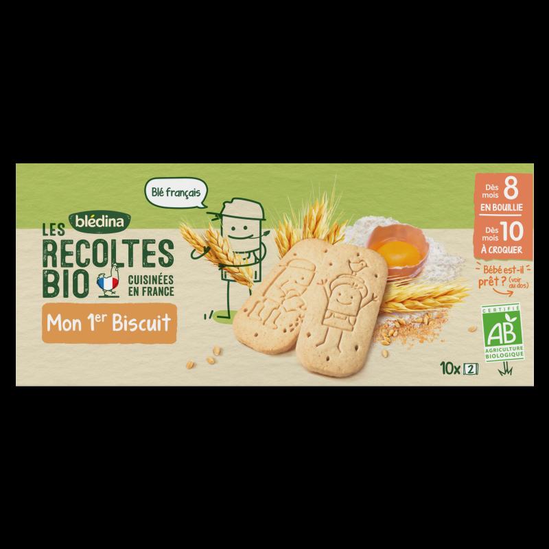 Les récoltes Bio Mon 1er Biscuit Nature - 150g